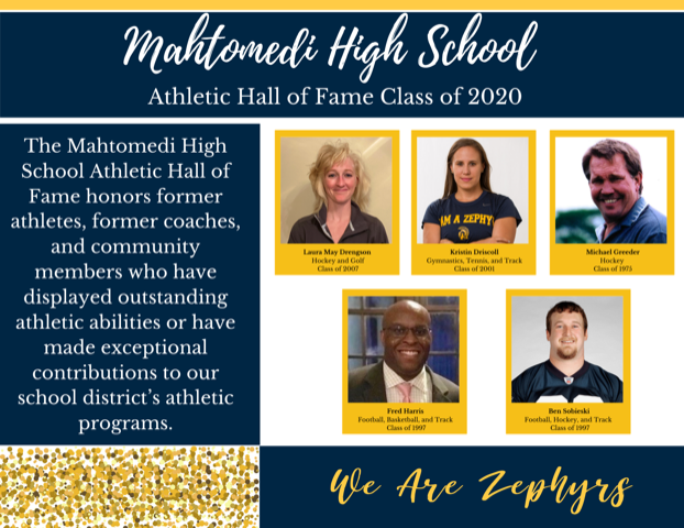MHS 2020 Athletic Hall of Fame inductees
